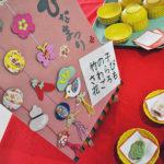 ひな祭り会の和菓子