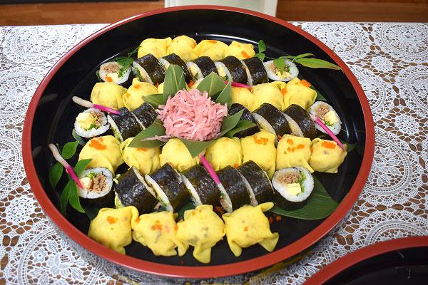 バイキング:お寿司
