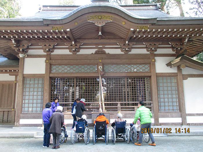 素盞鳴命神社に初詣
