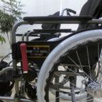 贈呈いただいた車椅子